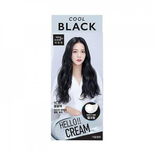 Hello Cream Hair Dye (Cool Black)