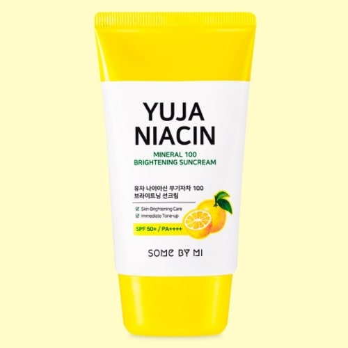 Yuja Niacin Mineral 100 Brightening Sun Cream 50ml