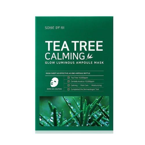 Tea Tree Calming Glow Luminous Ampoule Mask 10ea