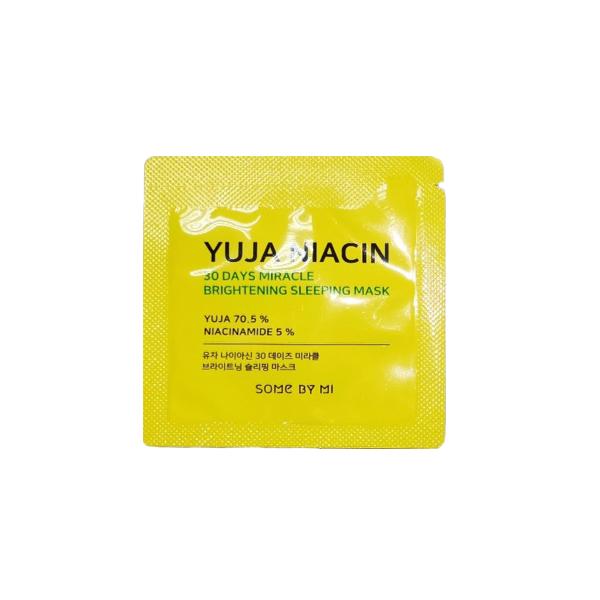 Yuja Niacin Brightening Sleeping Mask Sample Pack 10ea