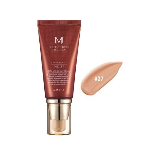 M Perfect Cover BB Cream SPF42 PA+++ Limited 50ml #27