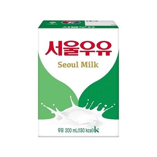 UHT Aseptic Milk White 200ml